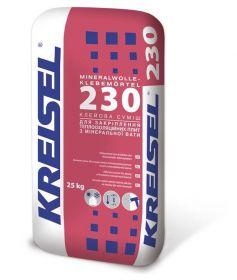 KREISEL Клеевая смесь для закрепления теплоизоляционных плит из минеральной ваты