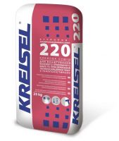 KREISEL Клеевая смесь для выполнения базового армированного слоя и закрепления теплоизоляционных плит из пенополистирола