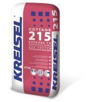 KREISEL Клеевая и армирующая смесь для систем утепления фасадов COTTAGE 215