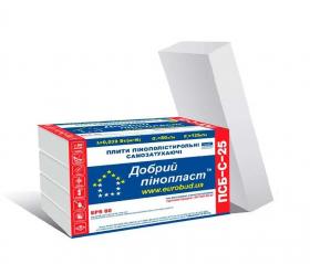 Пінопласт Eurobud ПСБ-С 25 EPS 80