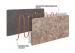Керамогранітний обігрівач UDEN-S KEN-500 «Глянець» графітовий