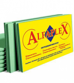 """Екструдований пінополістерол """"ALFAPLEX"""""""